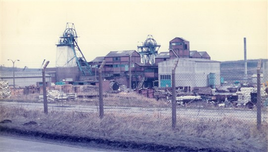 Photo:Annesley Colliery - Jan 1982