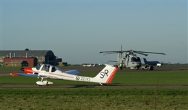 Photo:Current operations at RAF Syerston