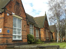 Photo:The Arthur Mee Centre, Stapleford, formerly Church Street Boys' School, later a Girls' School