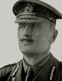 Photo:Field Marshal Allenby, photographed during the First World war
