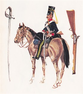 Photo:4th Light Dragoons in the Crimea