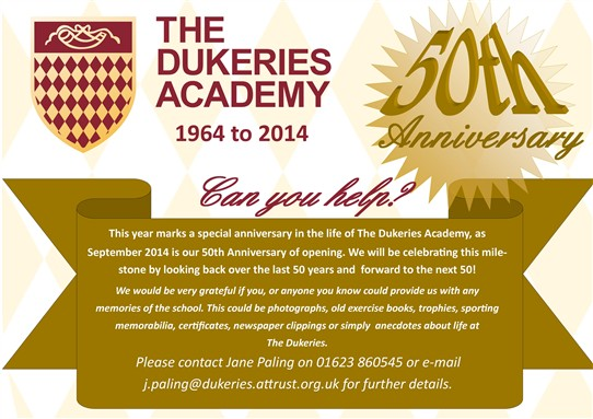 Photo: Illustrative image for the 'The Dukeries Academy - 50th Anniversary - 1964-2014' page