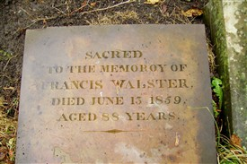 Photo: Illustrative image for the 'Walster family gravestone re-discovered.' page