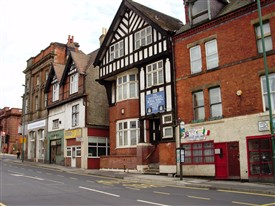 Photo:The Nottingham Royal Naval Association Club Arkwright Street Nottingham