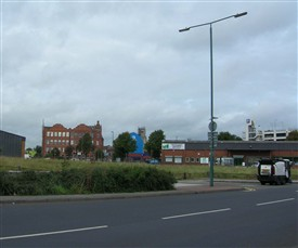 Photo:Arkwright Street looking towards former site of Arkwright Station 2009