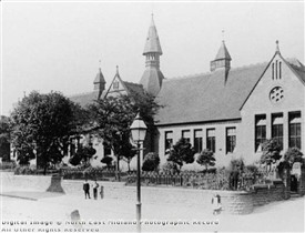 Photo:Church Street School, now the Arthur Mee Centre