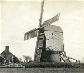 Photo:The mill at Aslockton, c.1900