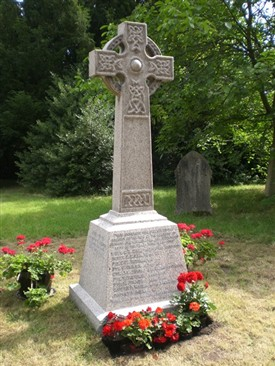 Photo:Bleasby War Memorial St Marys Church
