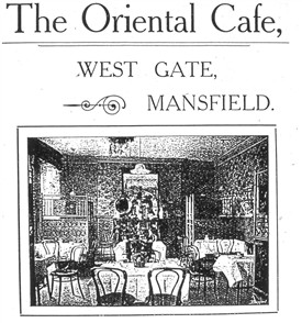 Photo:A cafe that extended its premises in the war