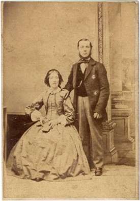 Photo:Photographed by James Oman in the 1860s.  This (as yet) unidentified portrait was sent in by OurNottinghamshire user Barry Swain