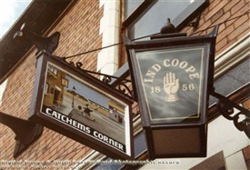 Photo:Pub sign Catchem's Corner Basford
