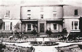 Photo:Coddington Hall.  The east (garden) front