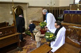 Photo: Illustrative image for the 'A 100 years on: Mothering Sunday at Coddington near Newark' page