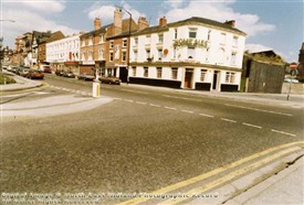 Photo:The Crown Inn Arkwright Street The Meadows 1987