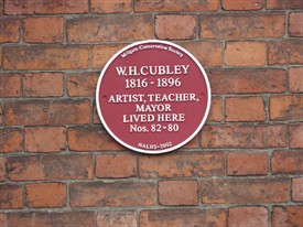 Photo:Plaque to W H Cubley