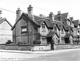 Photo:Cullen's Almshouses Mansfield Road Nottingham