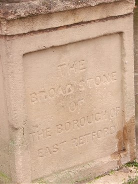 Photo: Illustrative image for the 'Retford - The Broadstone or is it 'Breadstone'?' page