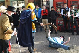 Photo:Muskham Pinkies Threshing blade kills the fool