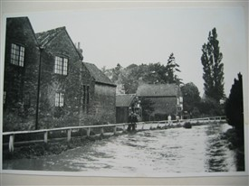 Photo:Caunton floods 1922