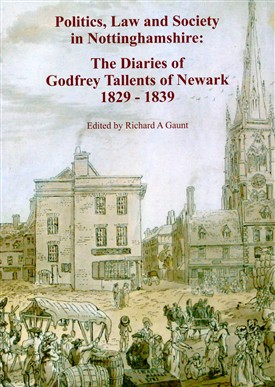 Photo: Illustrative image for the 'The Diaries of Godfrey Tallents of Newark 1829-1839' page