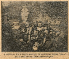 Photo:Mr Wilson's 'inferno' from 'The Golden Penny' May 4th 1901