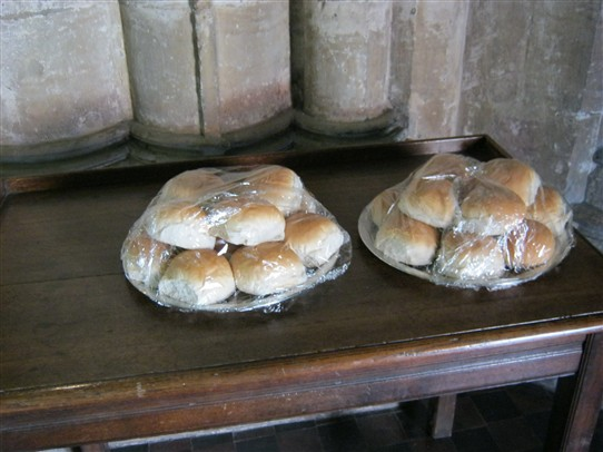 Photo:The rolls of the bequest