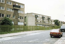 Photo:Hyson Green flats 1987