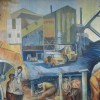 Page link: Coal Mining mural at Dukeries College, Ollerton