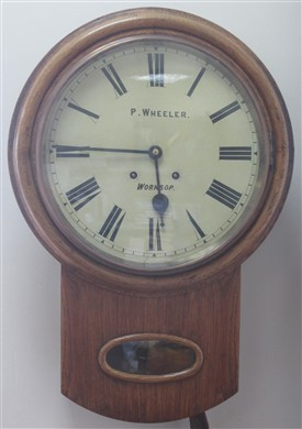 Photo: Illustrative image for the 'Clock by P. Wheeler of Worksop' page