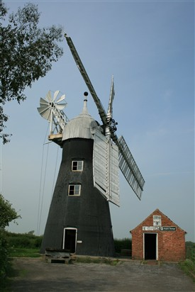 Photo: Illustrative image for the 'North Leverton windmill' page