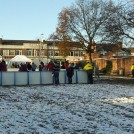 Photo:A closer view of the Ice rink, being enjoyed despite the conditions on the ground anyway