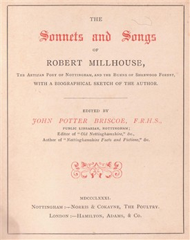 Photo: Illustrative image for the 'MILLHOUSE, Robert (1788 - 1839)' page