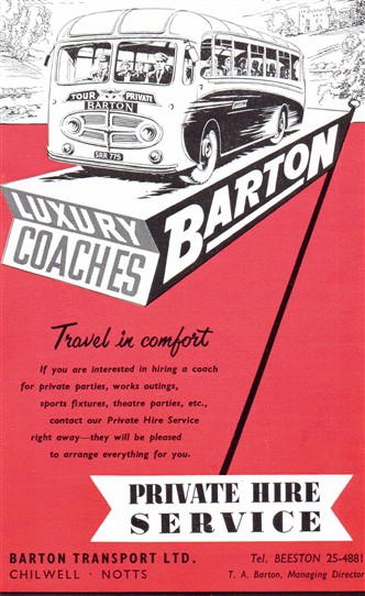 Photo: Illustrative image for the 'Barton Buses of Chilwell' page