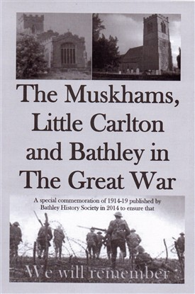 Photo: Illustrative image for the 'The Muskhams, Bathley, & Little Carlton in the Great War' page
