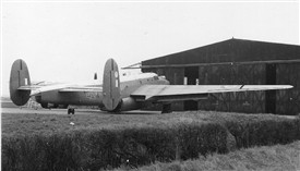 Photo:Shackleton martime patrol aircraft at Langar