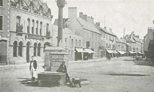 Photo: Illustrative image for the 'The Old Market Cross at Mansfield' page