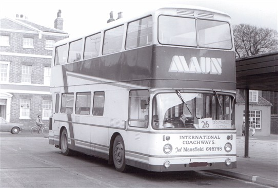 Photo:Leyland Atlantean with East Lancs body (originally owned by Bolton Corporation)