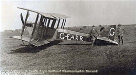 Photo: Illustrative image for the 'Interesting early bi-plane pictured at Retford' page
