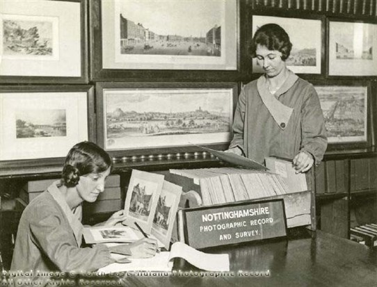 Photo:Photographic record and survey, Nottingham Central Library