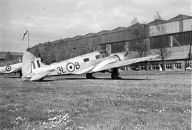 Photo:RAF Newton Oxford AT480
