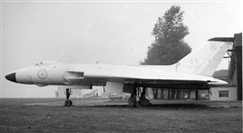 Photo:RAF Newton Vulcan XA908