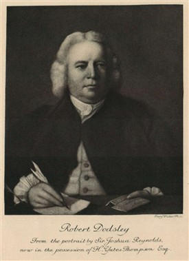 Photo: Illustrative image for the 'DODSLEY, Robert [1703 -1764]' page