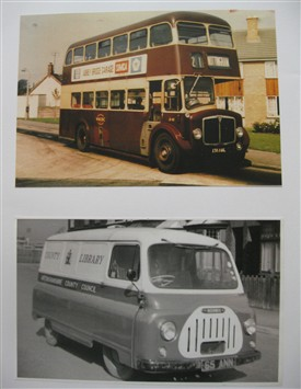 P Odesigned In The 1960s West Bridgford Urban District Council Bus And Li Ry Van