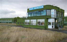 Photo:RAF Newton Control Tower