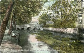 Photo:River Leen Bulwell c 1922