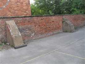 Photo:All that is left of the Fives Courts at the Old Magnus Buildings on Appletongate today