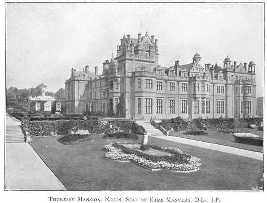 Photo: Illustrative image for the 'Thoresby Hall' page