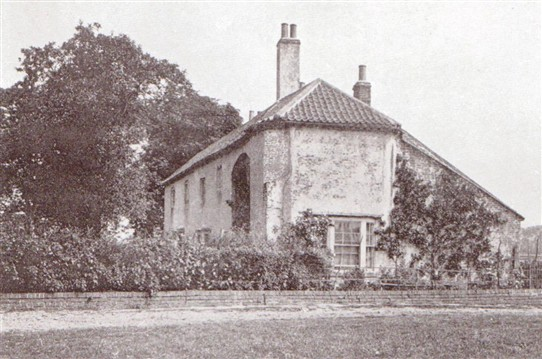 Photo:Scrooby - Brewster's House in 1910