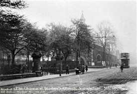 Photo:St Ann's Church and Robin Hood Chase c.1910