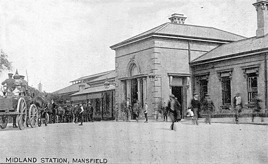 Photo: Illustrative image for the 'Midland Station, Mansfield' page